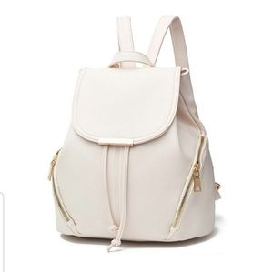 Cream color Fashion Backpack